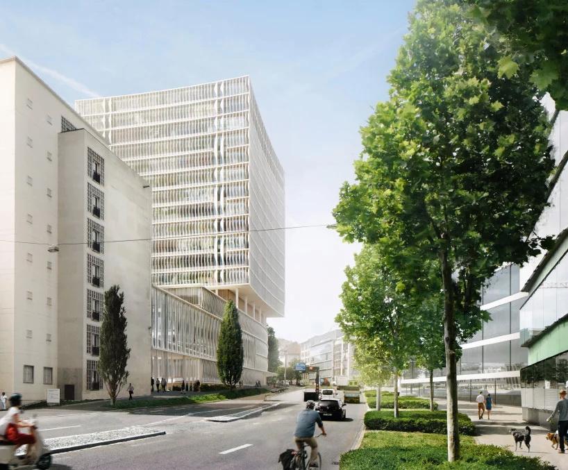 Herzog & de Meuron  มีแผนสร้างอาคารโรงพยาบาลใหม่ใน วิตเซอร์แลนด์ 2