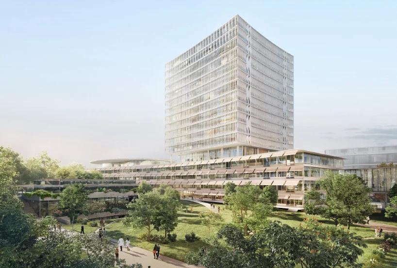 Herzog & de Meuron  มีแผนสร้างอาคารโรงพยาบาลใหม่ใน วิตเซอร์แลนด์ 1