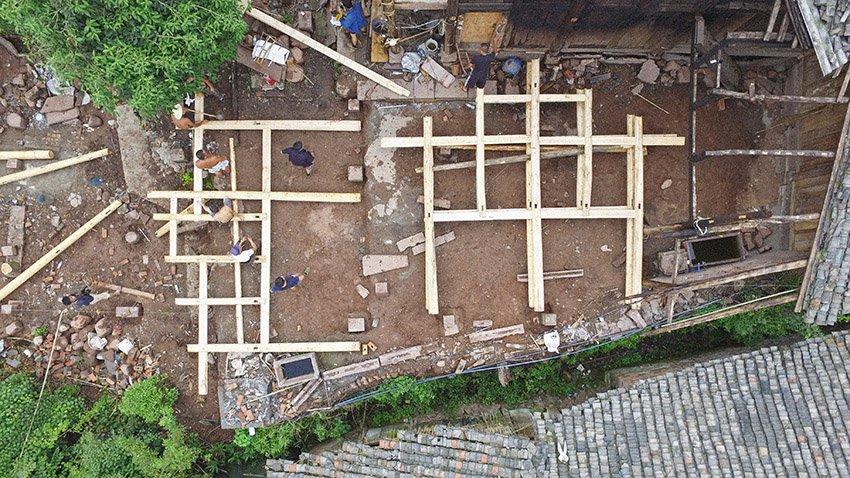 โครงการ insitu ออกแบบและสร้างเกสต์เฮาส์ช่วยชาวบ้าน จิ่วเจียง 2