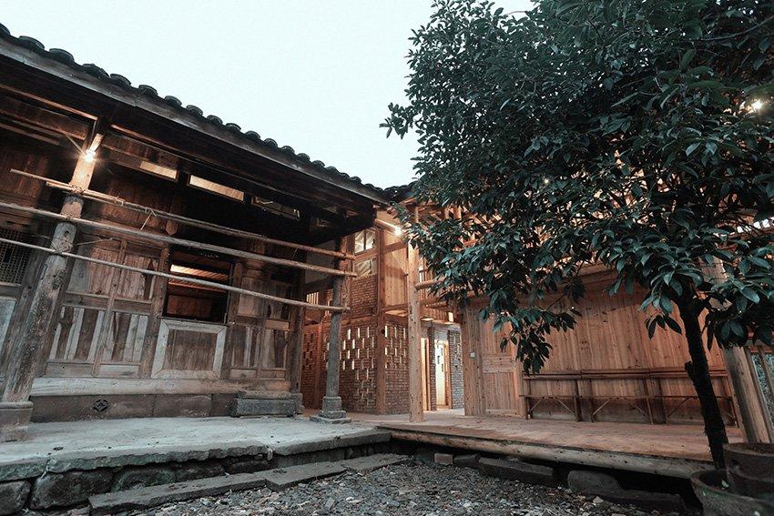โครงการ insitu ออกแบบและสร้างเกสต์เฮาส์ช่วยชาวบ้าน จิ่วเจียง 1