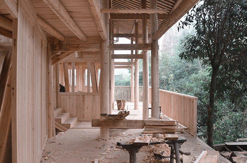 โครงการ insitu ออกแบบและสร้างเกสต์เฮาส์ช่วยชาวบ้าน จิ่วเจียง 3