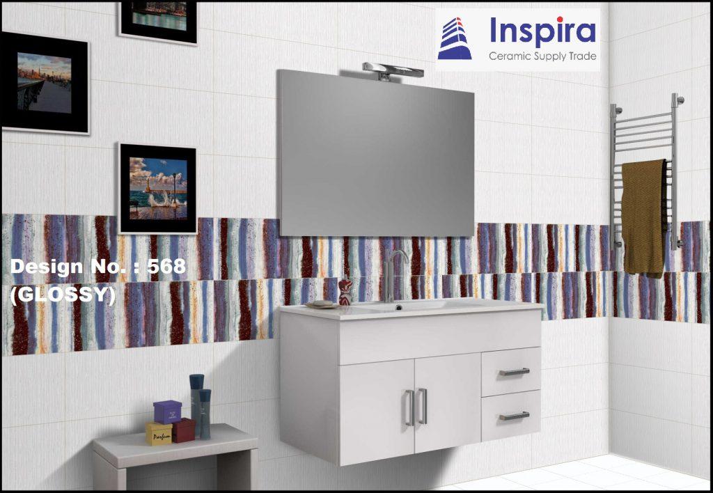กระเบื้อง เซรามิค  Digital printing Design 1